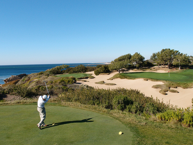 At the Pelican Hill golf resort, in Newport Coast, Calif., water conservation is an obsession.
