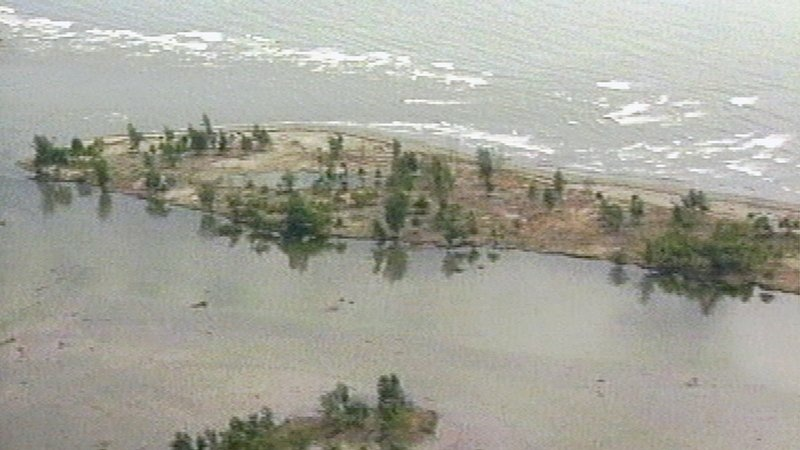 The Sissano Lagoon was part of Papua New Guinea devastated by a tsunami in 1998. Researchers used evidence from after that tsunami to compare to a tsunami thousands of years ago.