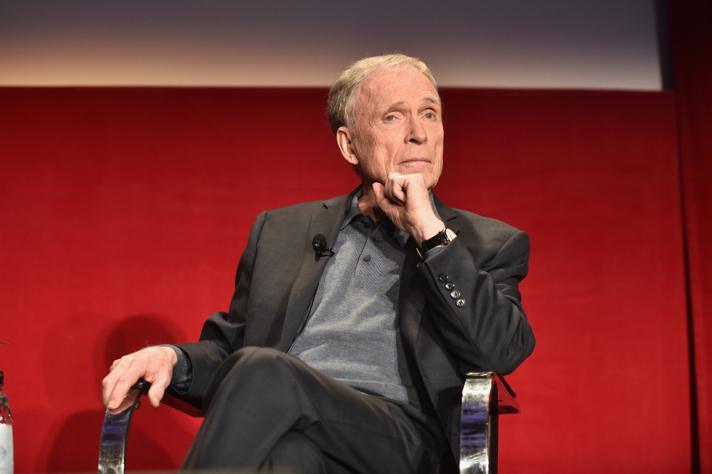 TV personality Dick Cavett speaks onstage during the 2017 TCM Classic Film Festival on April 9, 2017 in Los Angeles, California.