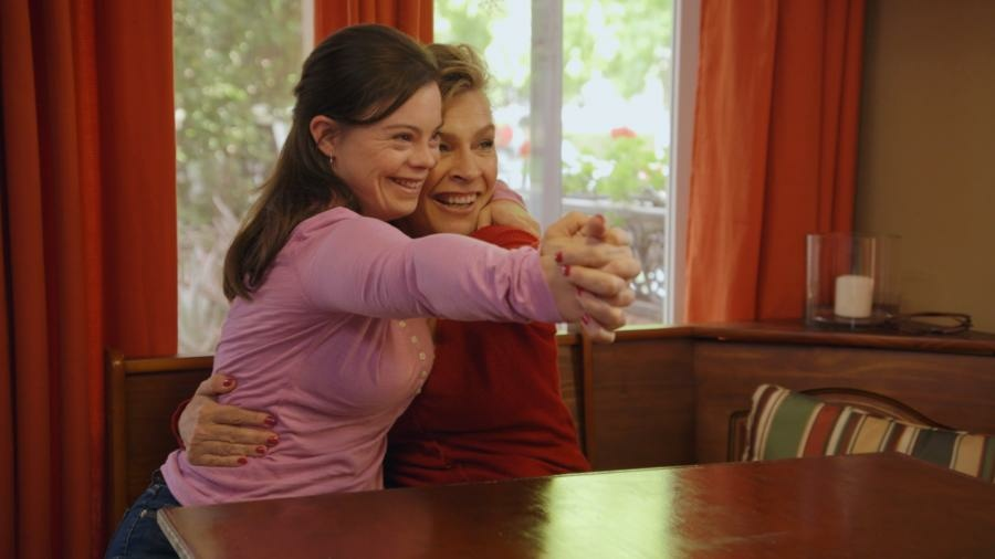 Cristina and Bea Sanz on the television series