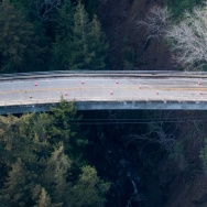 A bridge on Highway 1 in Big Sur has been declared damaged beyond repair, severing the main artery for the idyllic coastal community. (Photo courtesy Stan Russell)