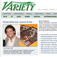 Variety-Homepage
