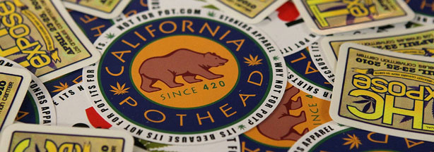 Marijuana related merchandise is displayed at a booth at The International Cannabis and Hemp Expo April 18, 2010 at the Cow Palace in Daly City, California.