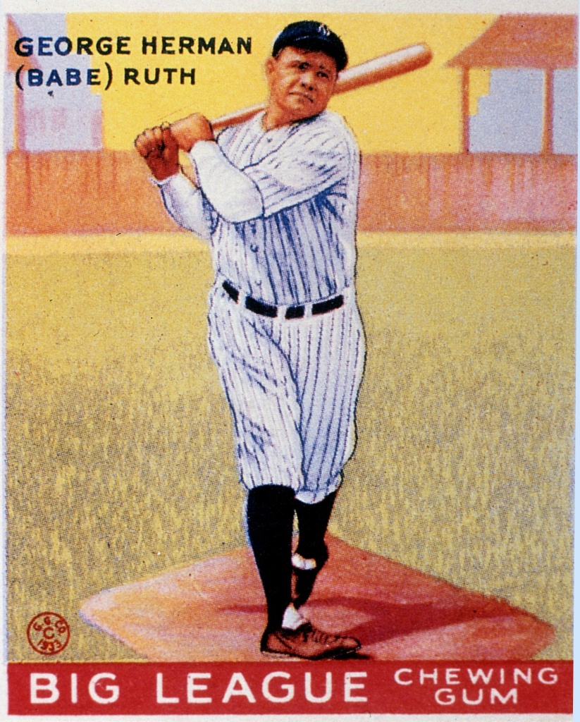 In addition to the rare 1933 Babe Ruth card, Memory Lane Inc. says the sale will feature more than 1,000 items including