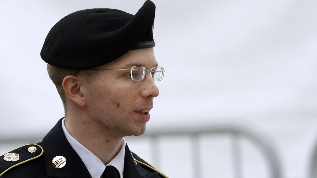 Lawyers for Bradley Manning asked a court-martial judge to dismiss some of the charges against him. (File photo: Army Pfc. Bradley Manning, is accused of delivering thousands of classified documents to America's enemies when he provided data to WikiLeaks.)