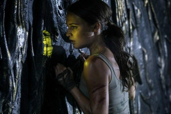 Alicia Vikander in Warner Bros.'s TOMB RAIDER.