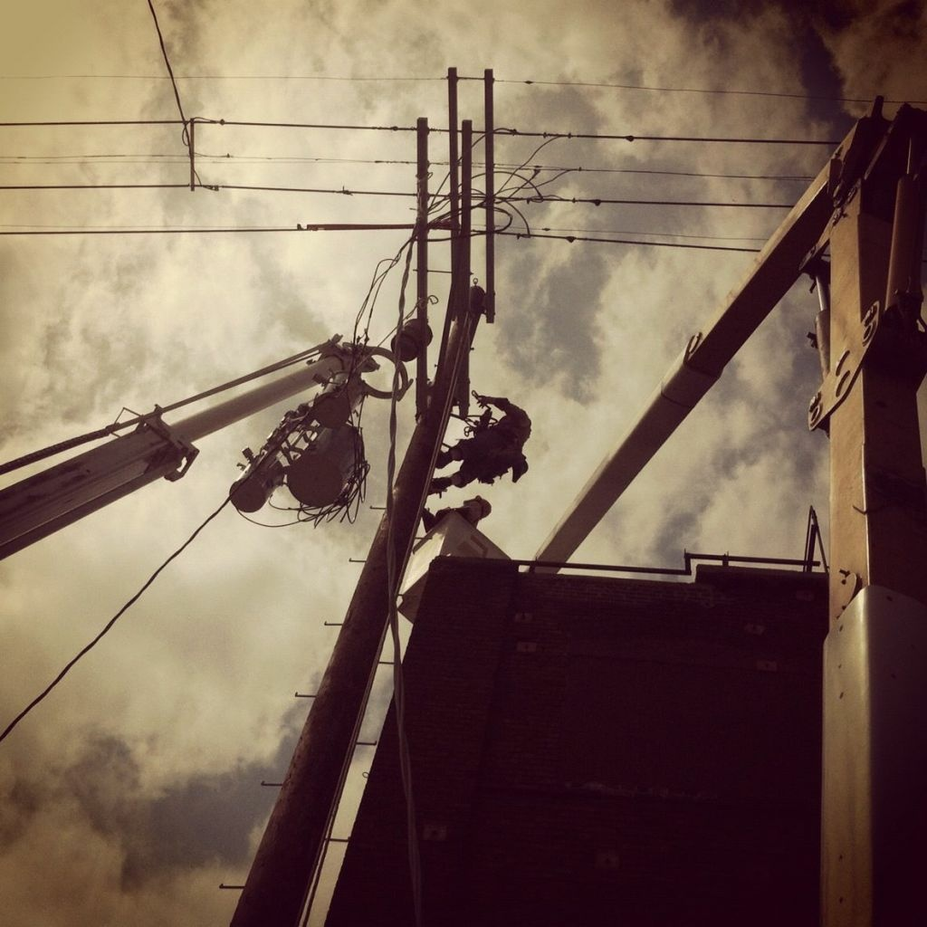 No getting around it, maintaining lines and poles is skilled labor-intensive work.