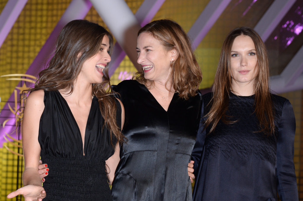 Elisa Sednaoui, Zoe Cassavetes and Ana Girardot attend the Closing and Award Ceremony during 14th Marrakech International Film Festival at  on December 13, 2014 in Marrakech, Morocco.