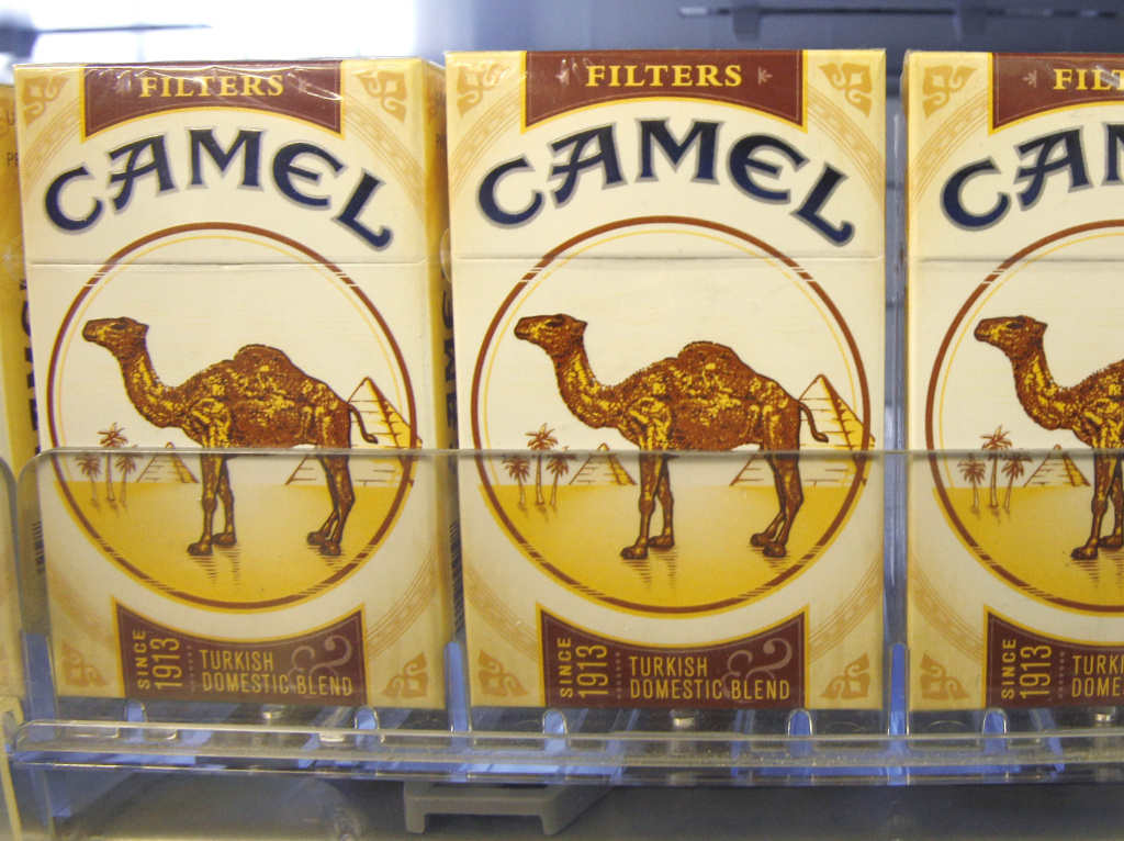 Cigarette maker Reynolds American, which makes Camel, said it was buying Lorillard Inc. for $27 billion.