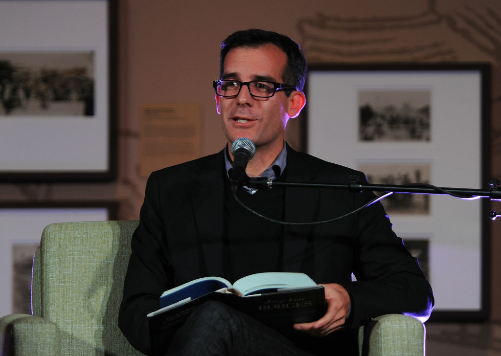 L.A. City Council President Eric Garcetti guest speaker attends The Library Foundation's Young Literati 4th Annual