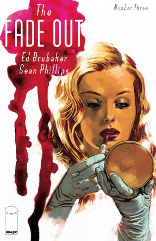 Cover of the 1940's Hollywood murder mystery comic