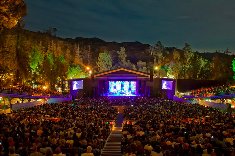 Los Angeles' Greek Theatre named best small outdoor venue in the country.