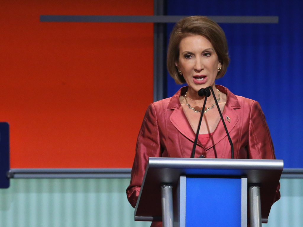 Fiorina's strong showing at the August Fox News debate helped boost her in the polls, meaning she could now make it into the main CNN debate.