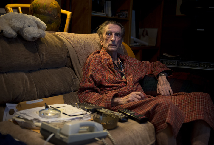 Harry Dean Stanton poses for a portrait on Wednesday, Sept. 4, 2013 in Los Angeles.