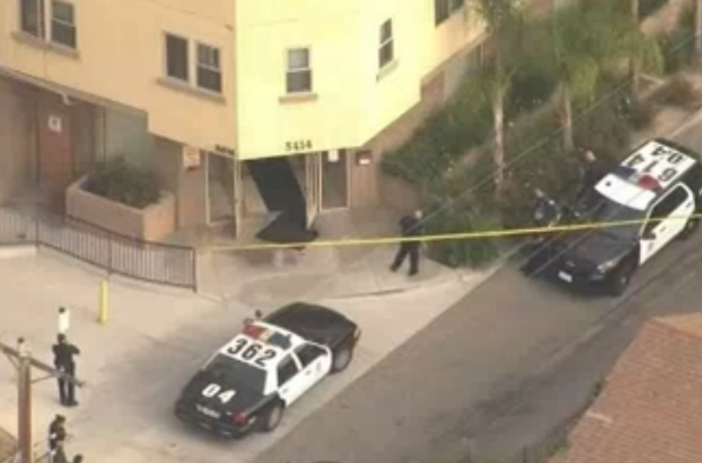LAPD officers fatally shot a man who was allegedly wielding a knife in Lincoln Heights.