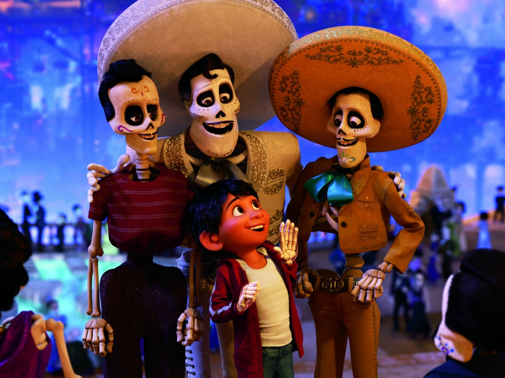 "In ""Coco,"" the bridge to the Land of the Dead is divided by a checkpoint, where those who have died must pass a facial screening to ensure someone still remembers them on the other side."