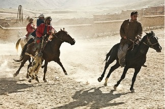 A scene from Buzkashi Boys, set in Kabul, Afghanistan.