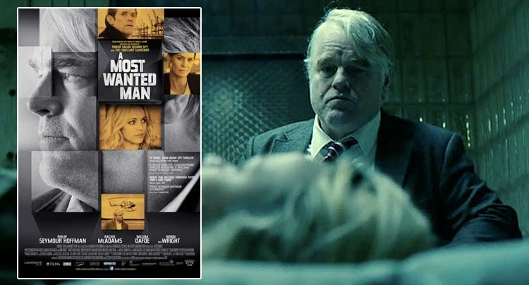 Cover art for the new film, A Most Wanted Man.