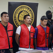 "Five members of the drug cartel ""Los Zet"