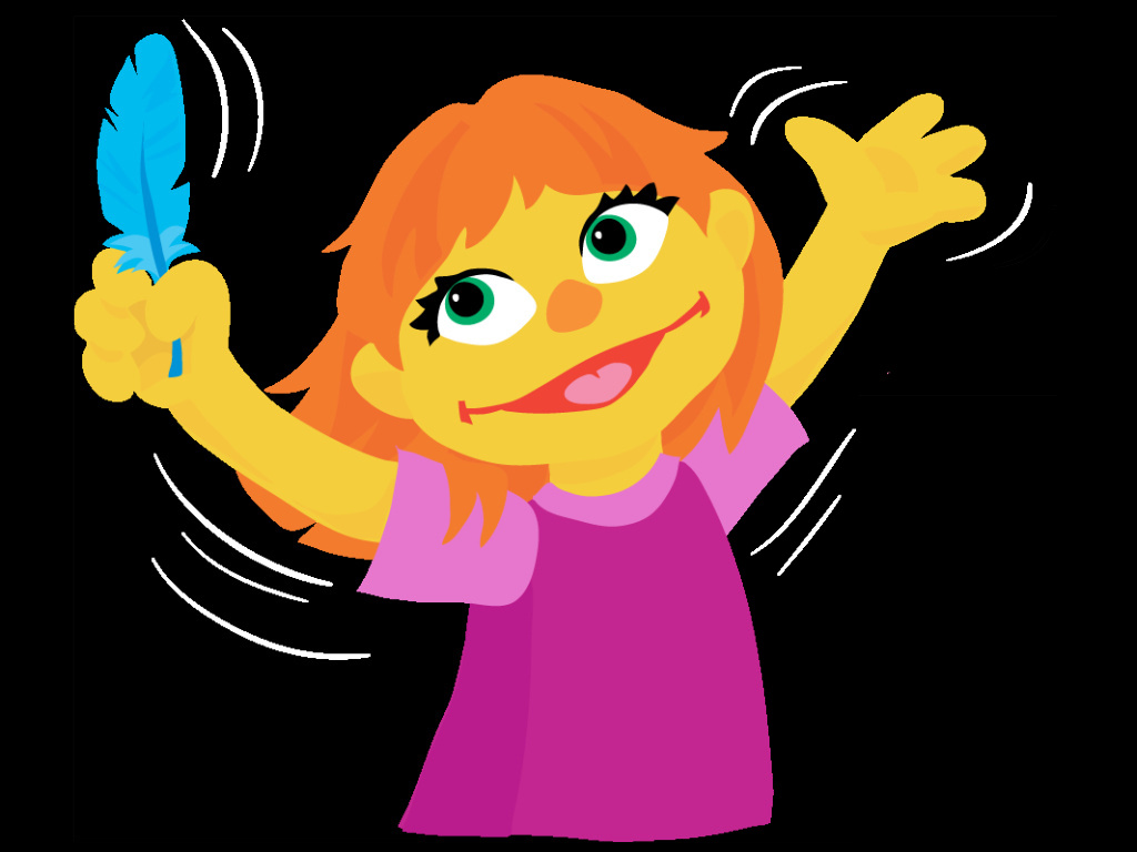 Julia is described by the Sesame Workshop as