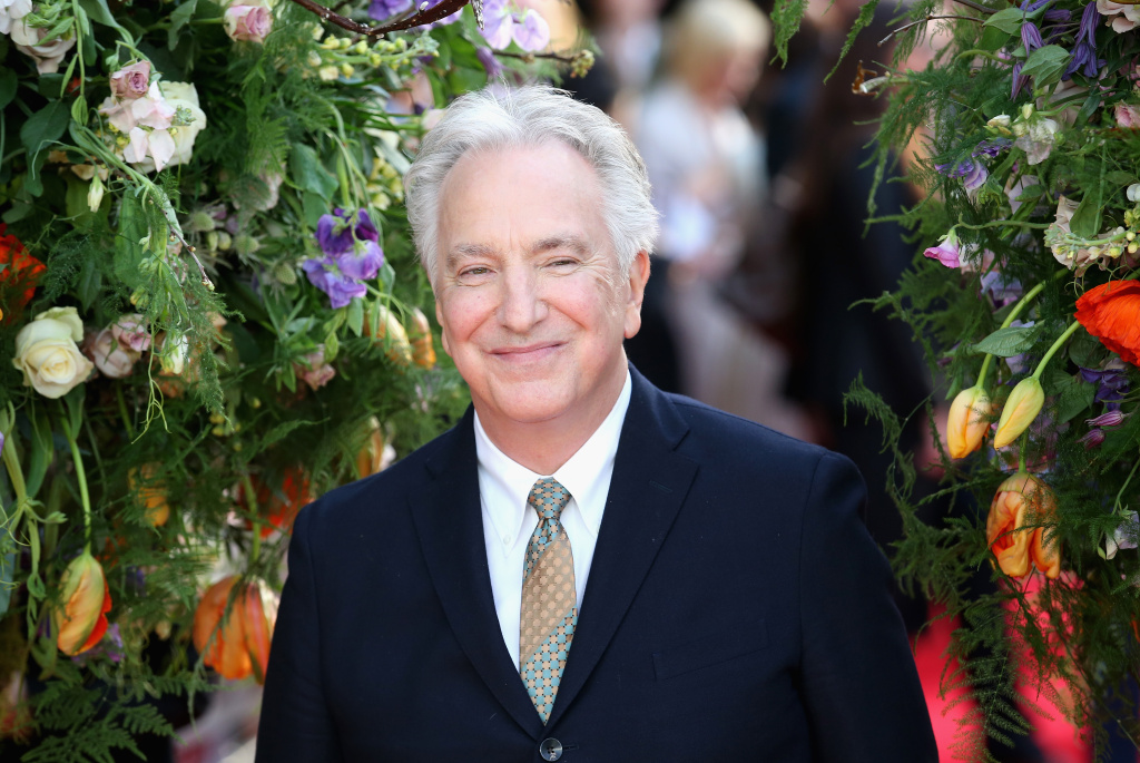 Director and actor Alan Rickman attends the UK premiere of