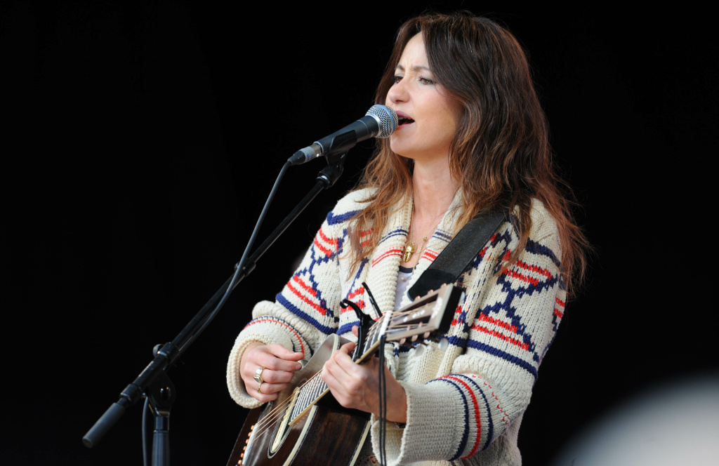 KT Tunstall performs at agit8 at Tate Modern, ONE's campaign ahead of the G8 on June 12, 2013 in London, England.