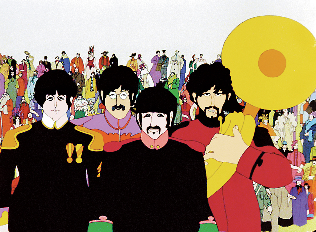 The Beatles' 1968 animated film,