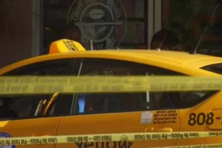 A screenshot of the taxi of a taxi driver who was killed early Sunday morning, Aug. 14, 2016 in a dispute over a cab fare.