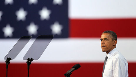 President Obama speaks to supporters during a campaign stop in Las Vegas, Nevada in 2012; Obama is expected to outline his plan for comprehensive immigration reform during an address in Las Vegas on Tuesday.