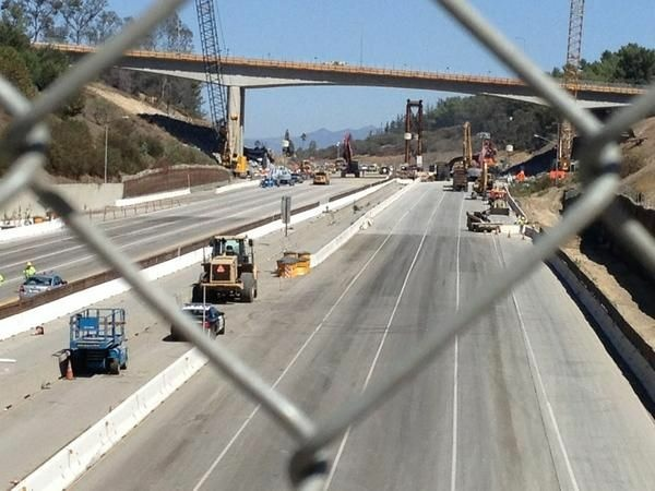File photo: Brace yourself for a series of planned closures on the 405 Freeway during 'Jamzilla' in February.