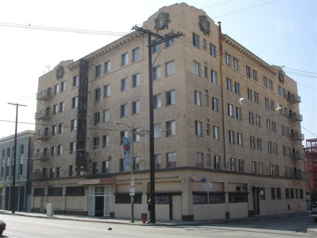 Ford Hotel, before restoration.