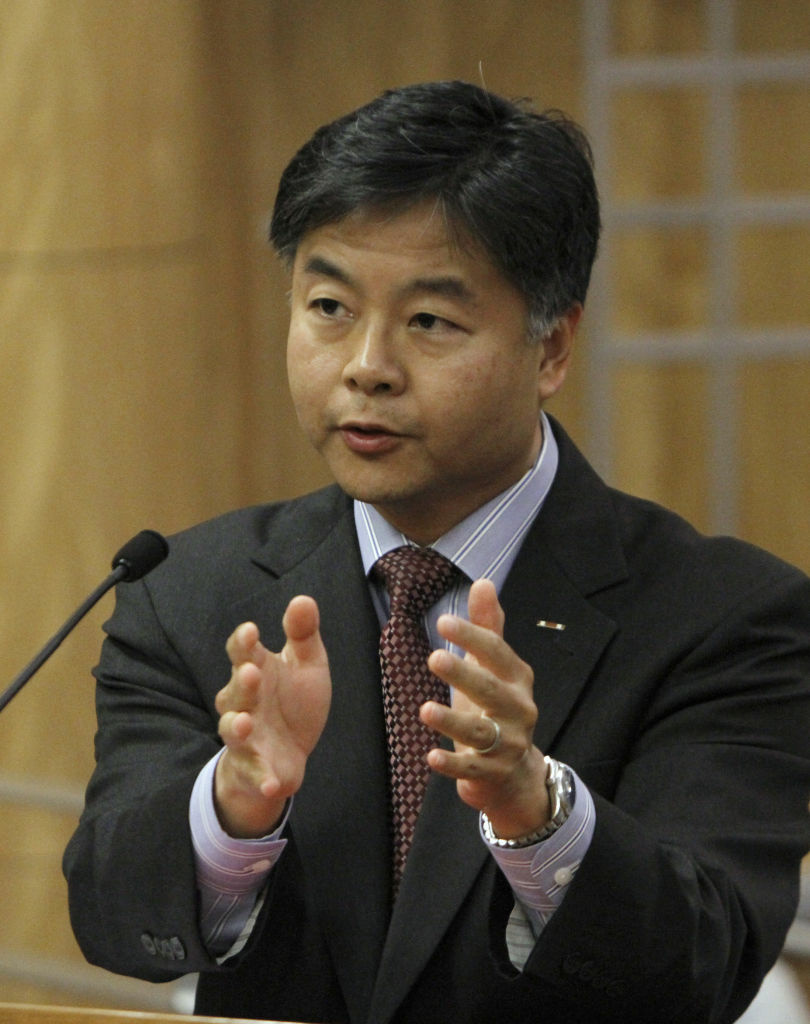 State Sen. Ted Lieu, D-Torrance, urged lawmakers to approve his bill to ban a controversial form of psychotherapy aimed at making gay people straight during a hearing at the Capitol in Sacramento on Tuesday,  May 8. The bill, SB 1172, was passed by the Senate Judiciary Committee 3-1.