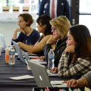 Seasoned editors and first-timers alike work to bridge Wikipedia's gender gap at LACMA's Art + Feminism Wikipedia Edit-a-thon