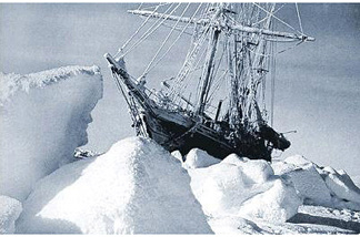 Ernest Shackleton's ice-locked ship, the Endurance. John Rabe's documentary