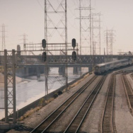 A rail yard near Union Station in Episode 5 of True Detective, Season 2