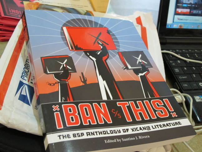 ¡Ban This! is an anthology of Chicano writing in response to the dismantling of a Mexican American studies program in Tucson Public Schools.