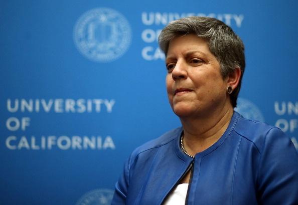 University Of California Board Votes On Napolitano Becoming President