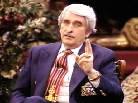 Paul Crouch during one of his shows on TBN.