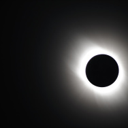 The Solar Eclipse Is Observed In Asia