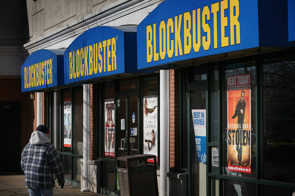 Soon, Blockbuster stores like this one will be harder to find. Dish network announced that they are closing 300 Blockbuster stores. Is digital streaming replacing DVDs?