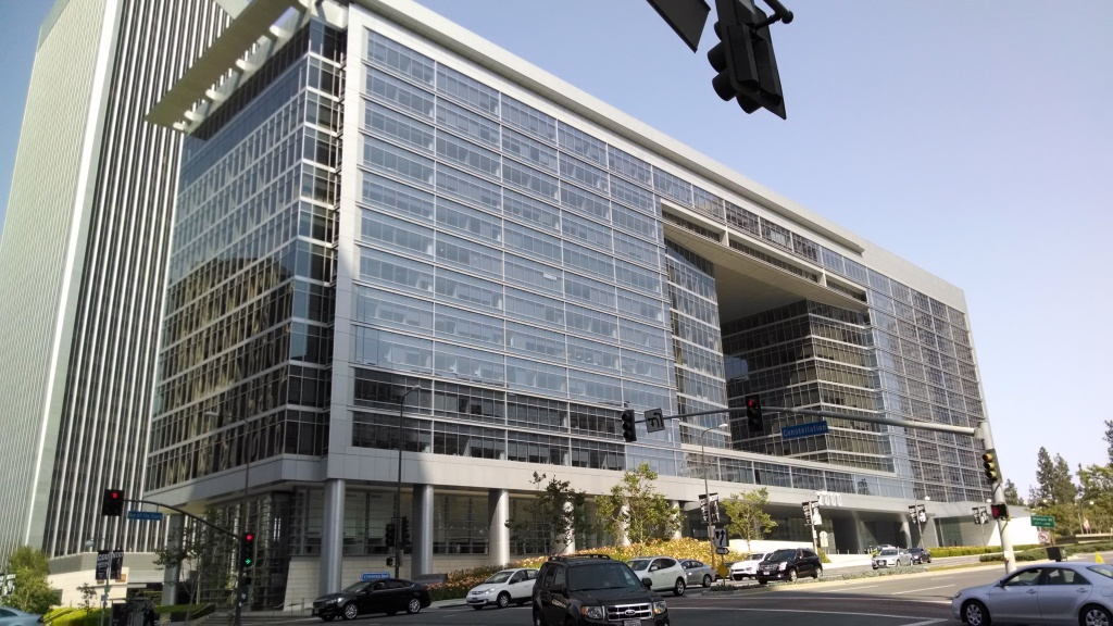 The Creative Artists Agency headquarters in Century City.