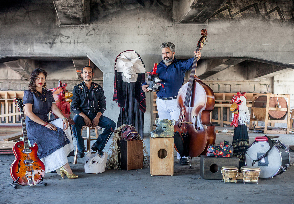 The East LA band El Haru Kuroi will be performing at West Covina Library Oct. 14.