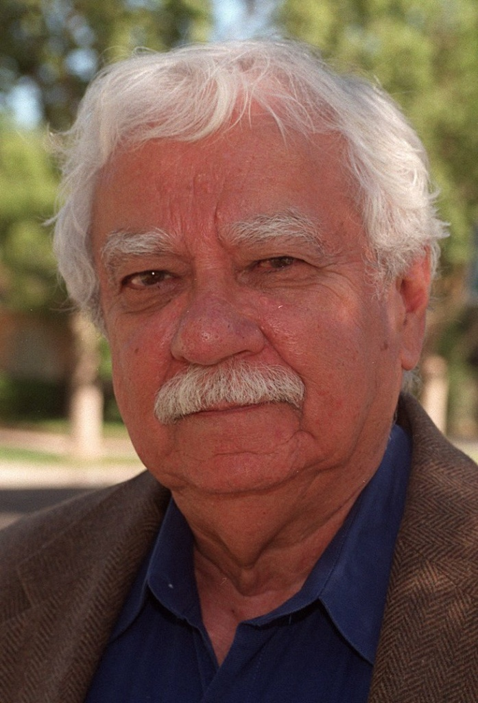 An image shared with KPCC shows former Los Angeles Times columnist Al Martinez, who died Monday at 85.