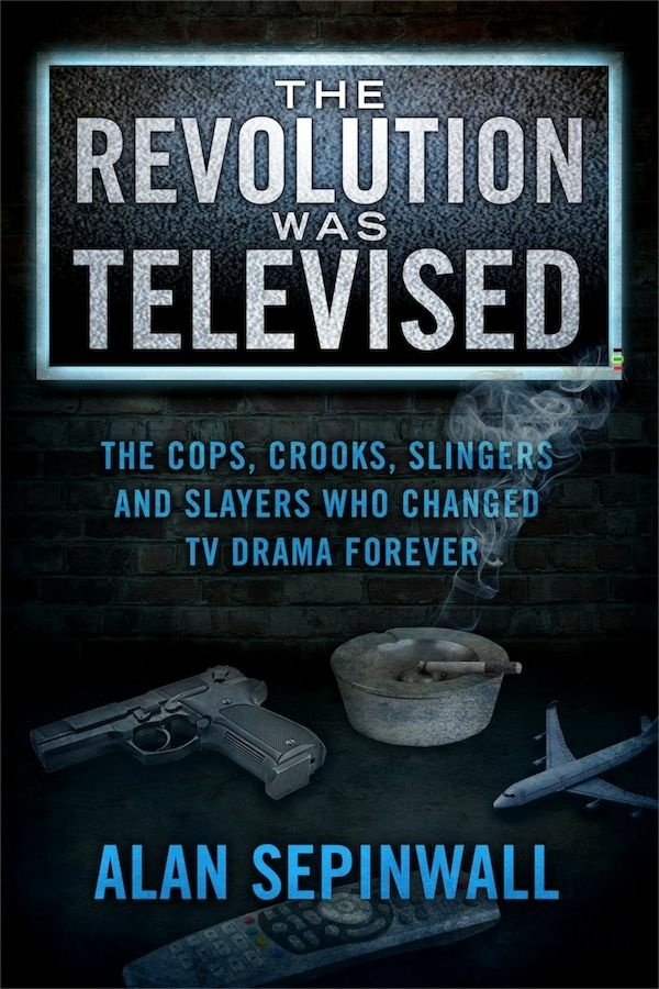 Cover for Alan Sepinwall's book