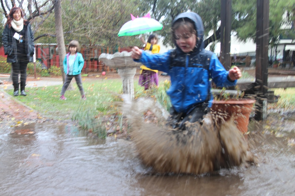The Perks Of Play In Mud Educational >> Audio At This Nature Based Preschool A Rainy Day Is A Chance For