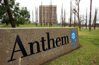 The Anthem Blue Cross headquarters is seen on February 9, 2010 in Woodland Hills, California.