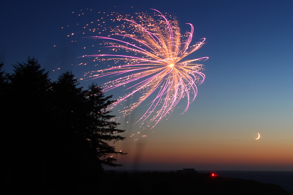 File photo of fireworks.