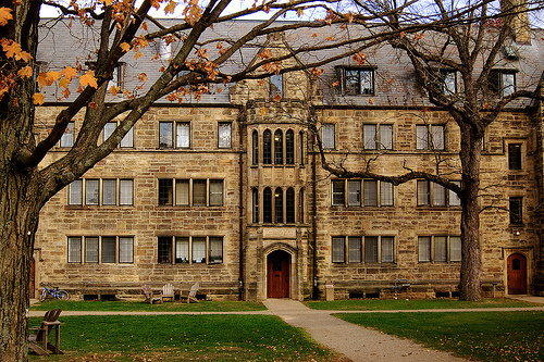Kenyon College - Leonard Hall. One of the schools Lew Schneider's son, Leo, is considering.