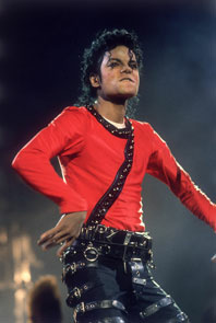 TOKYO - SEPTEMBER 14 : Michael Jackson performing on stage during his 'Bad' World Tour in Tokyo,Japan on the 14th of September 1987.