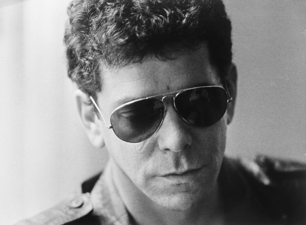 Lou Reed in Stockholm, April 4, 1983. Reed was inducted into the Rock and Roll Hall of fame with, among others, Ringo Starr, Green Day, Joan Jett and Stevie Ray Vaugn.